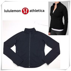 Lululemon Shape Zip up Sweatshirt Jacket Black